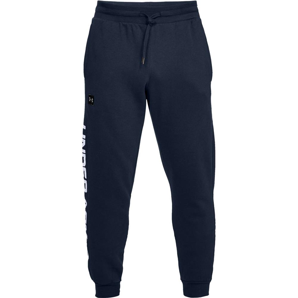 Under-Armour-ColdGear-Rival-Fleece-Script-Trainingshose-Jogginghose-Sport-Hose Indexbild 4