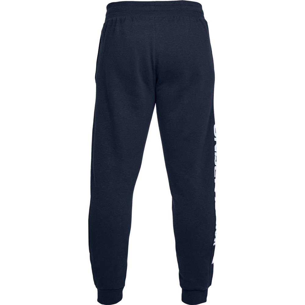 Under-Armour-ColdGear-Rival-Fleece-Script-Trainingshose-Jogginghose-Sport-Hose Indexbild 5