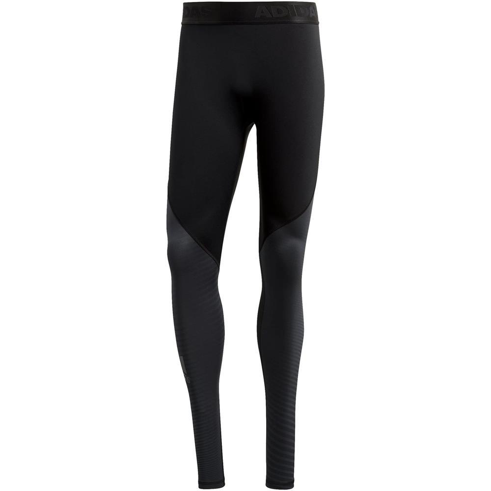 Indexbild 7 - adidas Alphaskin Sport Long Tights Herren Laufhose Lauftights Winter Leggings