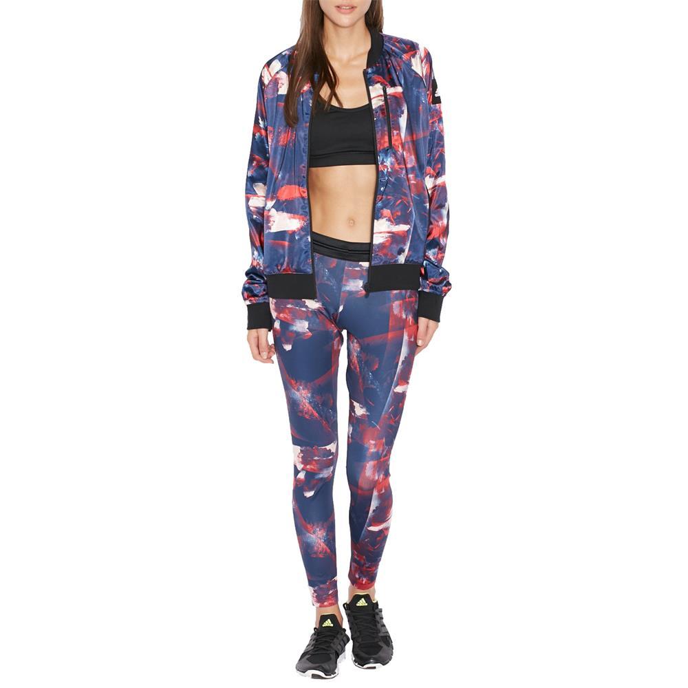 adidas-Flower-Long-Tights-Hose-Leggings-Sporthose-Training-Fitness Indexbild 5
