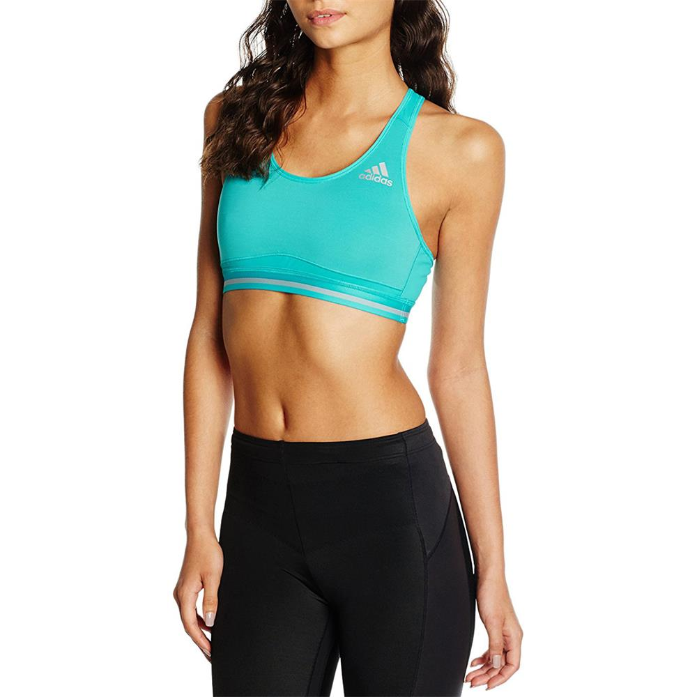 adidas techfit climachill bra damen sport bh fitness bh. Black Bedroom Furniture Sets. Home Design Ideas