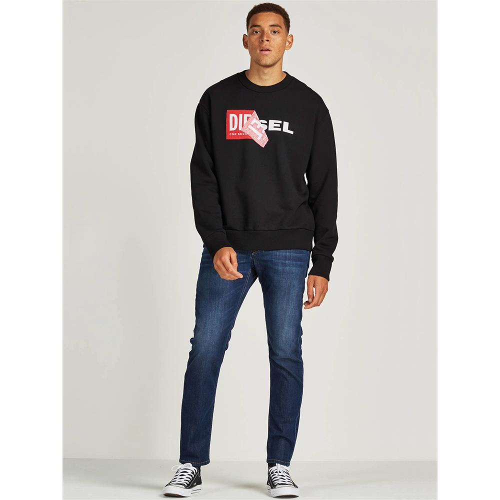 Indexbild 3 - Diesel S-SAMY Herren Sweatshirt Pullover Sweater Pulli