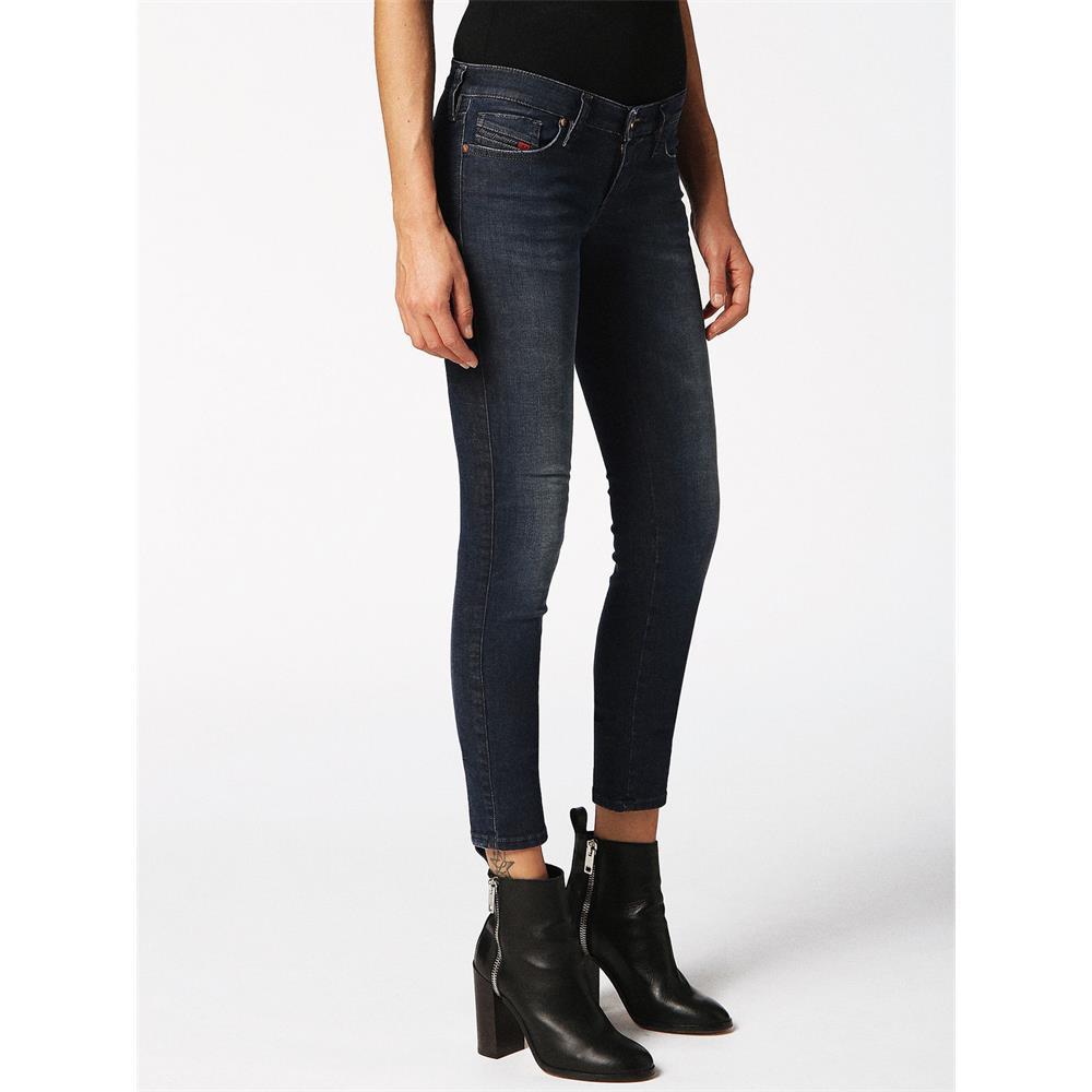 Indexbild 3 - Diesel SKINZEE-LOW-S Damen Jeans Denim Super Slim-Skinny Low Hose Jeanshose