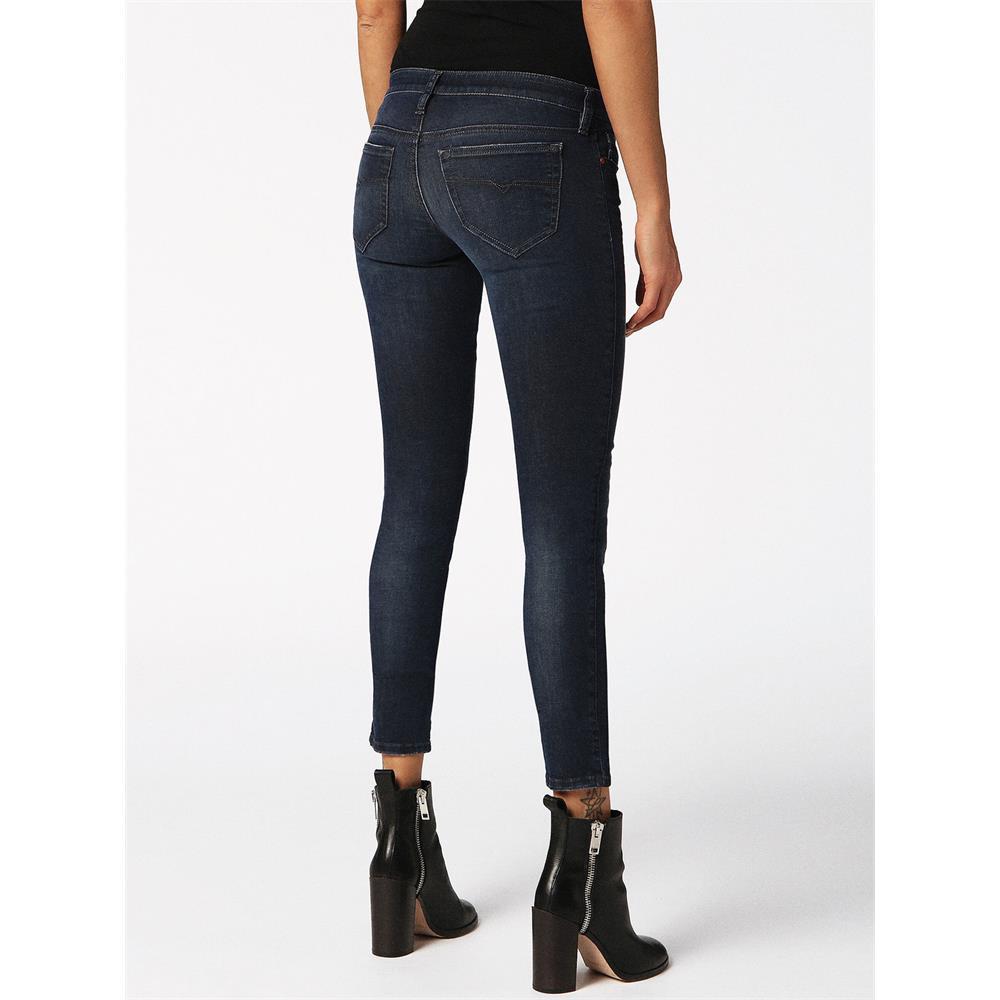 Indexbild 4 - Diesel SKINZEE-LOW-S Damen Jeans Denim Super Slim-Skinny Low Hose Jeanshose