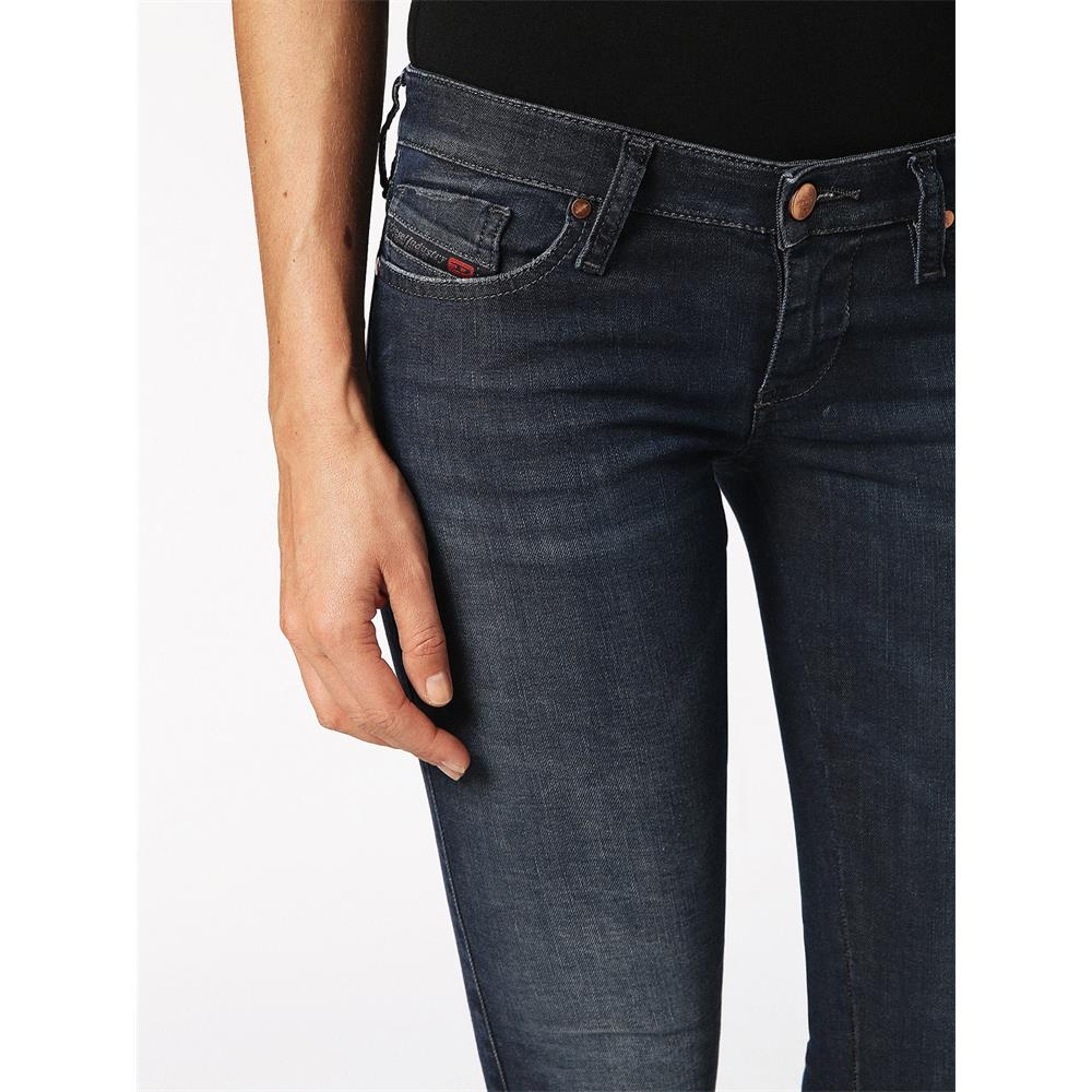 Indexbild 5 - Diesel SKINZEE-LOW-S Damen Jeans Denim Super Slim-Skinny Low Hose Jeanshose
