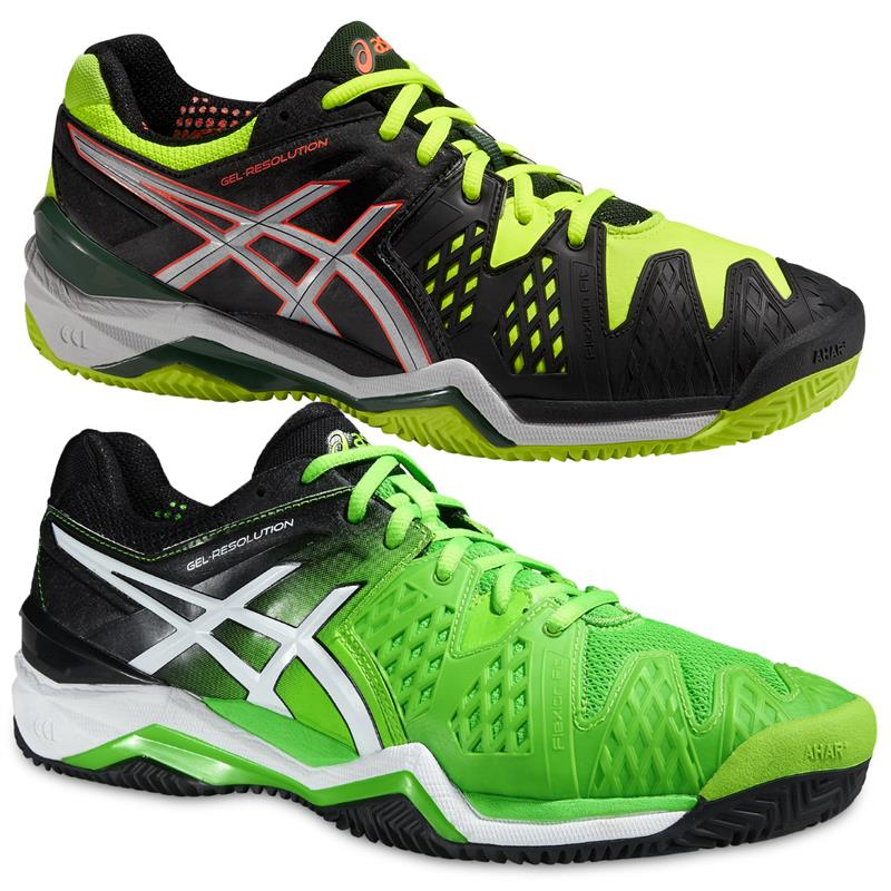 Details zu Asics Gel-Resolution 6 Clay Court Herren Tennisschuhe Tennis  Schuhe Sandplatz