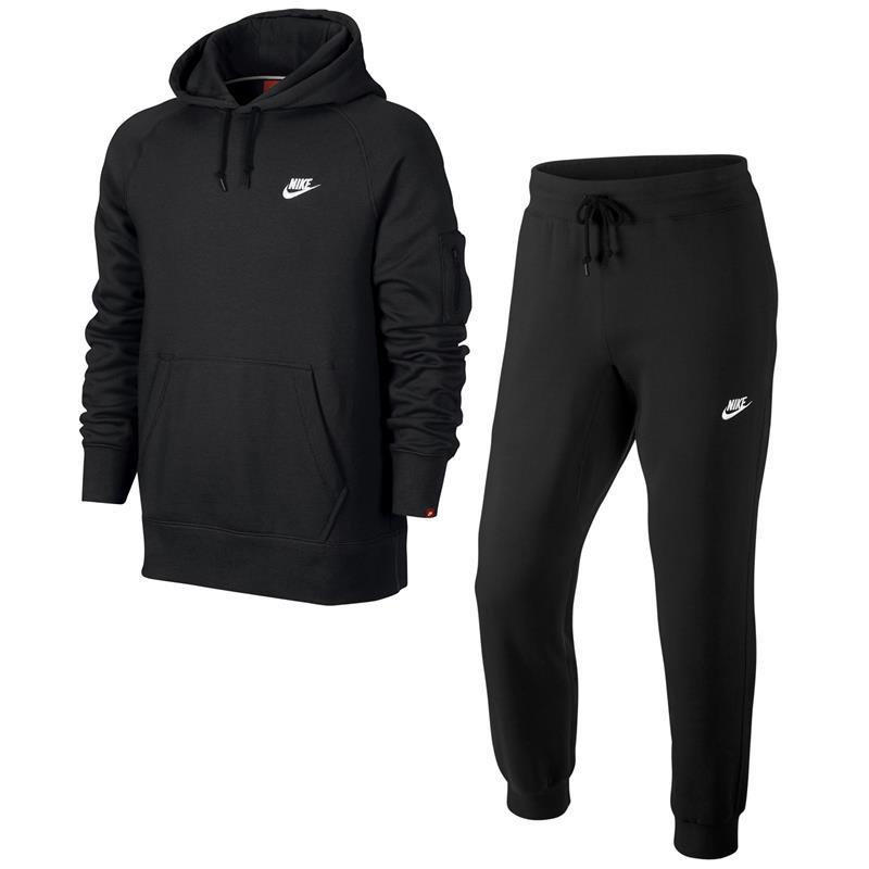 new styles factory price biggest discount Details zu Nike AW77 Fleece Herren Trainingsanzug Hoodie Jogginghose Anzug  2-Teilig
