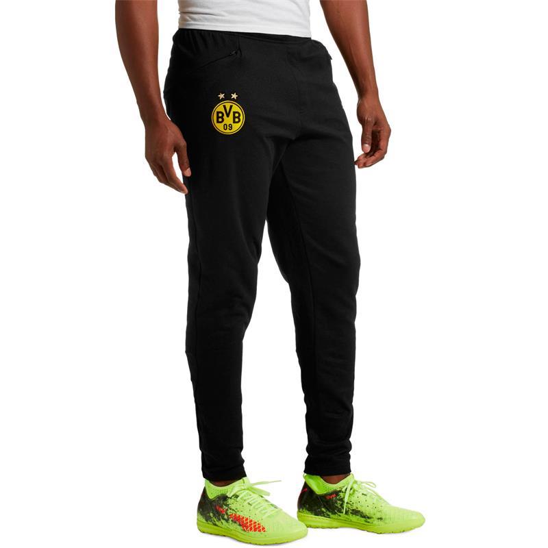 Details zu Puma BVB Borussia Dortmund Herren Casual Sweat Pant Trainingshose Jogginghose