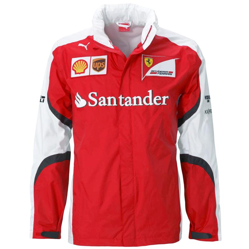 puma sf team jacket scuderia ferrari official formel 1. Black Bedroom Furniture Sets. Home Design Ideas