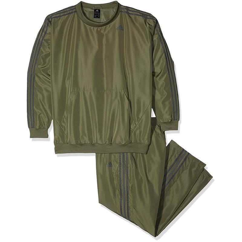 Details zu adidas TS Young Herren Trainingsanzug Climalite Sportanzug Anzug 2 Teilig