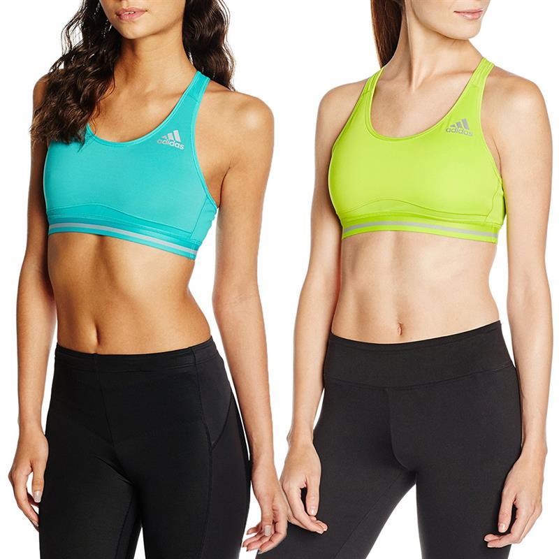 54eae88768 Adidas TechFit ClimaChill Bra Women s sports fitness bra training ...